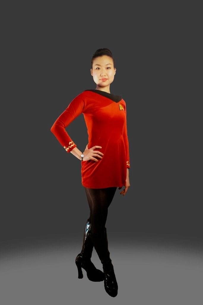 Custom Star Trek Tos Female Skant Cosplay Costume By Angiviper