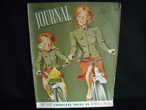 vintage 1936 Journal magazine