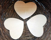 Wooden Cut Out Hearts