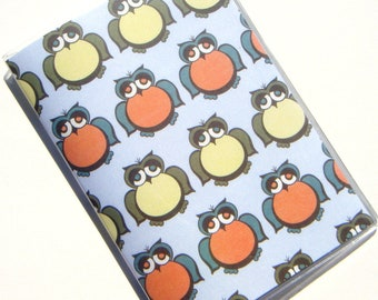 Owl Passport Cover Case Holder
