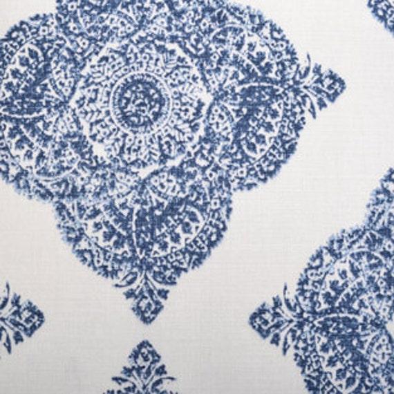 John Robshaw Fabrics: Drapery Panels Handmade Using Duralee John By TheDraperyGal
