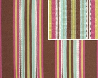 Hammock Stripe Mocha fabric Gypsy Caravan by Amy Butler 1 fat quarter