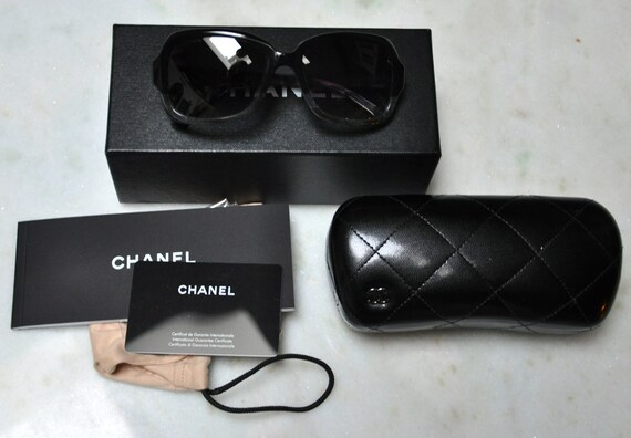 Authentic Chanel two-toned sunglasses model 5177