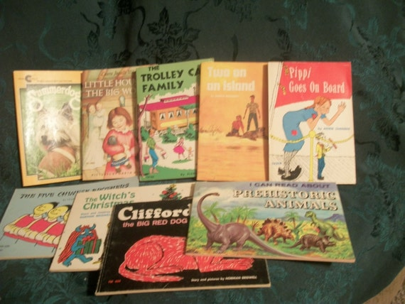 VINTAGE CHILDREN'S BOOKS:   Twenty-Seven 1970's Children's Books - Classics, Fiction, Non-Fiction, Fun