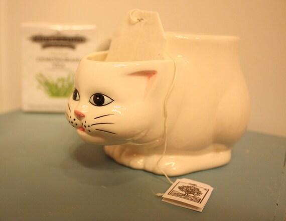Cat Tail Teabag Holder