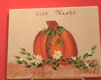 GIVE THANKS hot plate