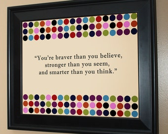 Adorable Children's Quote Wall Art