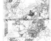 Custom Comic Book Page