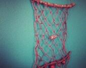 Mini Hemp Net Tapestry