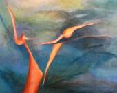 Pacific Warrior - Fine Art Reproduction - 8x10
