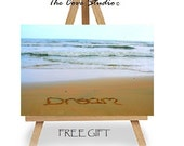 4x6 Sand Writing Canvas w/Free Easel