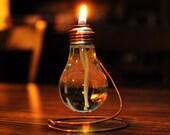 Light Bulb Oil Lamp.
