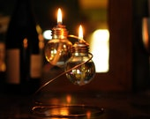 Light Bulb Oil Lamp - Double