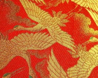 SF160 Woven Shikiori Lacquered Thread, reversible, Obi material