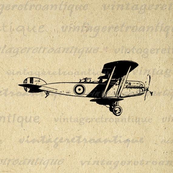 vintage airplane clipart - photo #27