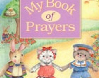 My Book of Prayers- personalized storybook
