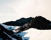 Sólheimajökull Glacier in Iceland (Volcanic Rocks)