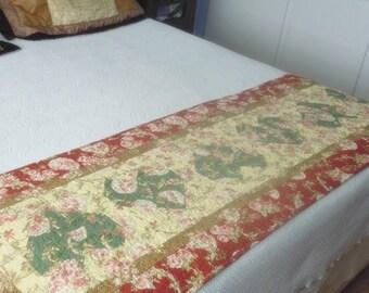 Handmade Hearts Bed Runner