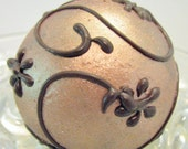 Cake Pops - Gold and Bronze with Dark Chocolate Accents
