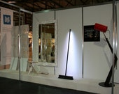 Large White Framed Mirror 'RIOT' by Furniply