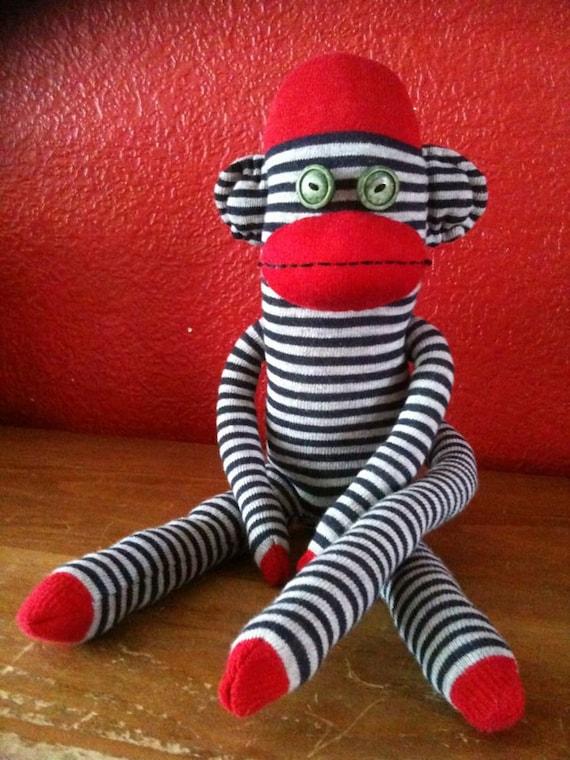 Logan the Scruffy Sock Monkey