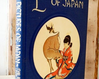 Vintage Book, Little Pictures of Japan.