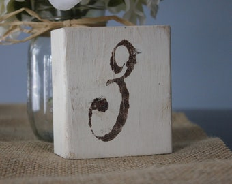 Rustic Table Numbers Set of 15, Shabby Chic, Wedding table numbers, Rustic Wedding Decor, Country Wedding Decor, Wood Table Numbers