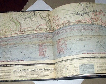 Road to Victory WWII 1944 Remembered Book Fourth Series Book Issue Military Map