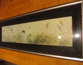 Get 15% Off - Vintage Asian Chinese Print in Original Frame