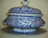 TUREEN WITH PLATTER