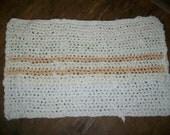 Shabby Chic-Crocheted Rag Rug