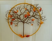 Tree of Life Wreath handmade - 12 inches