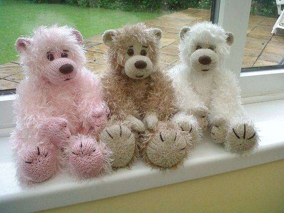 Baby Bear PDF knitting pattern
