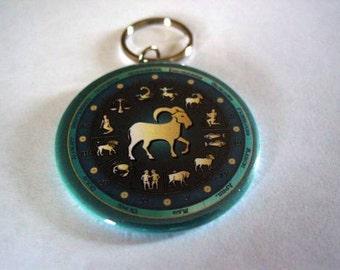 Aries Zodiac Key Chain