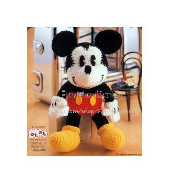 Disney Mickey Mouse Amigurumi Pattern in English by FunHandicraft