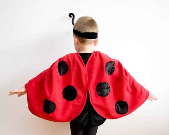 kleinkind m dchen halloween kost m marienk fer kost m von. Black Bedroom Furniture Sets. Home Design Ideas