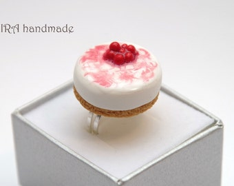 Kawaii Lolita Cheesecake Ring