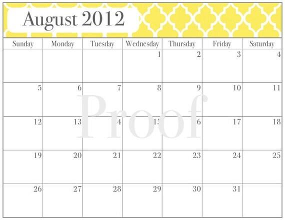Calendar June Through August : Sale printable calendar august through june by