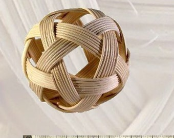 Lichen ball basket ball 10 cm
