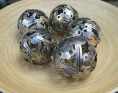 Mini 8.5 cm key ball, Key sphere, Metal sculpture ornament