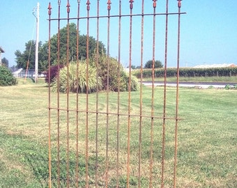 Spear Topped 6' Tall Fence that is Custom Made - Wrought Iron Fencing