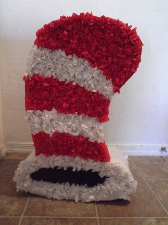 items similar to dr seuss cat in the hat pinata on etsy