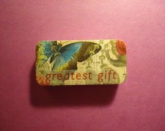 Greatest Gift Domino Magnet