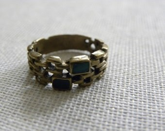 vintage ring brass