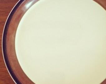 Vintage Mikasa Ben Seibel Fire Song Chop Plate.