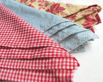 Cloth Napkin Set: Refugee-Made