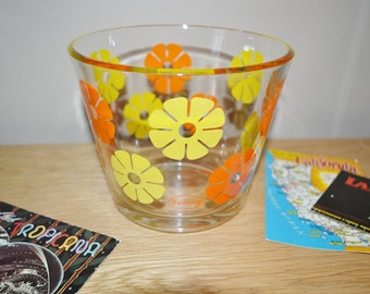Vintage Retro Style Glass ice bucket
