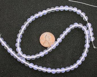 6mm round gemstone opalite gem beads