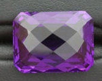 14x12 rich purple amethyst color checkerboard  quartz
