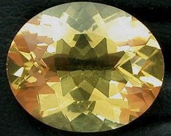 12mm x 10mm 12x10 oval golden citrine gemstone gem